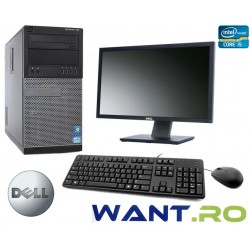 Sistem complet Dell OptiPlex™ 790 Intel® Core™ i5-2400 3.1GHz 4GB 250GB + Monitor 23' LED IPS Full-HD Dell U2311