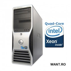 Dell PRECISION T3500 Intel® Xeon® E5420 4GB 250GB DVD-RW nVidia Quadro