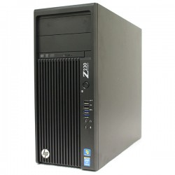HP Z230 Intel® Xeon® E3-1245v3 3.40GHz 16GB 128GB SSD GT218 VNS 300